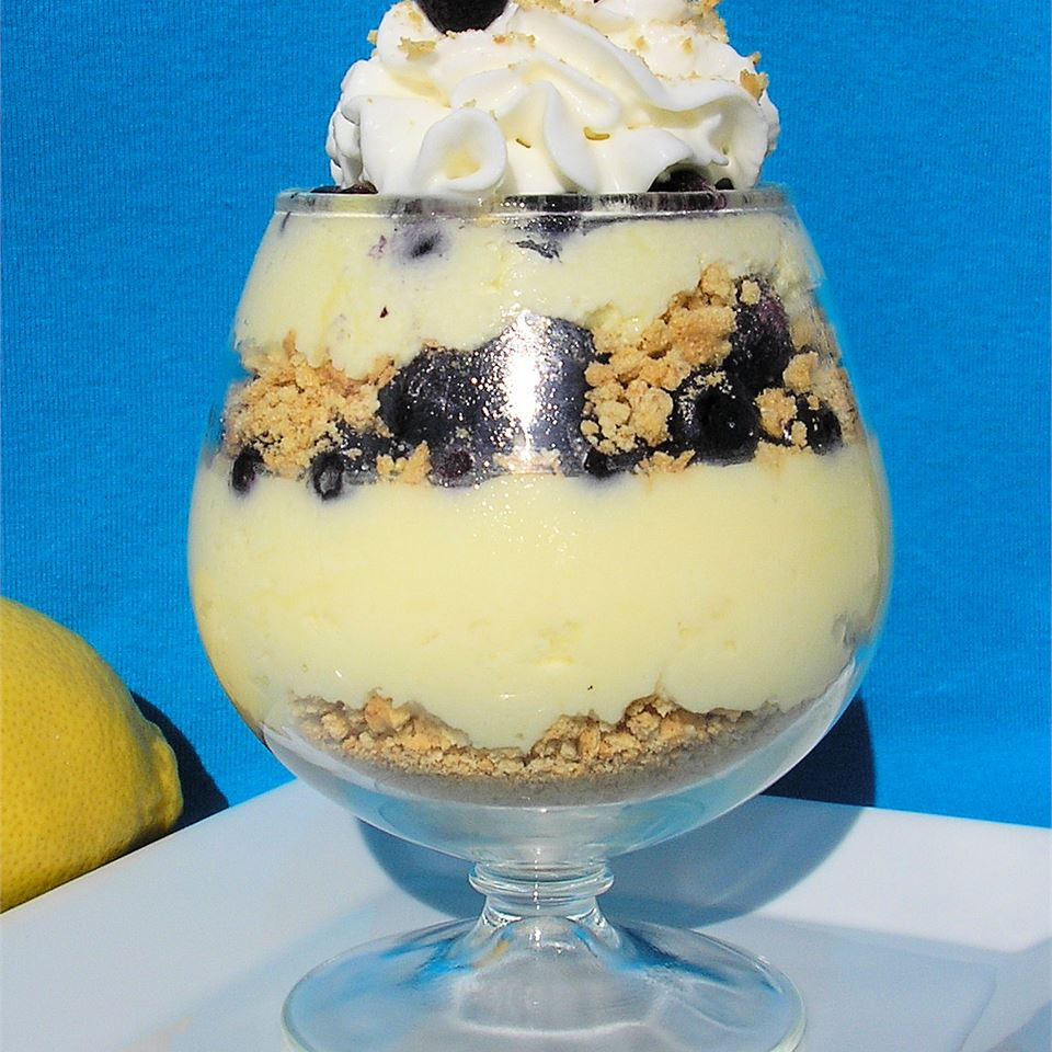 Easy Blueberry-Lemon Parfait Lori