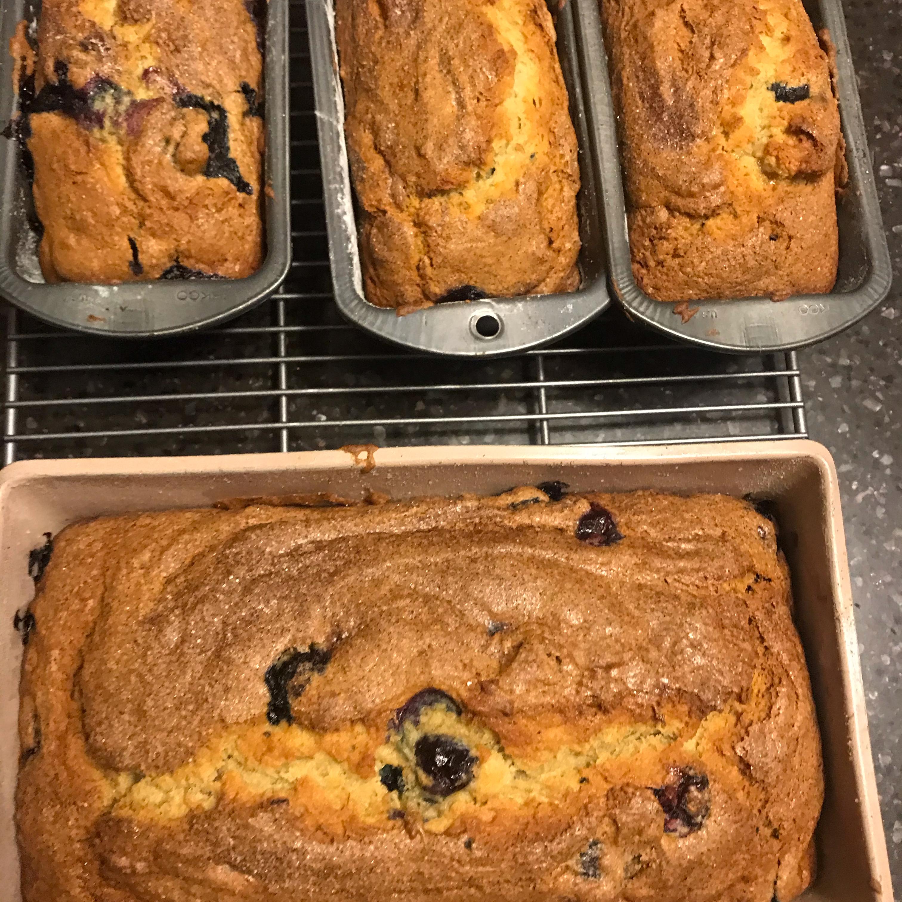Blueberry Banana Bread Claudia Martin