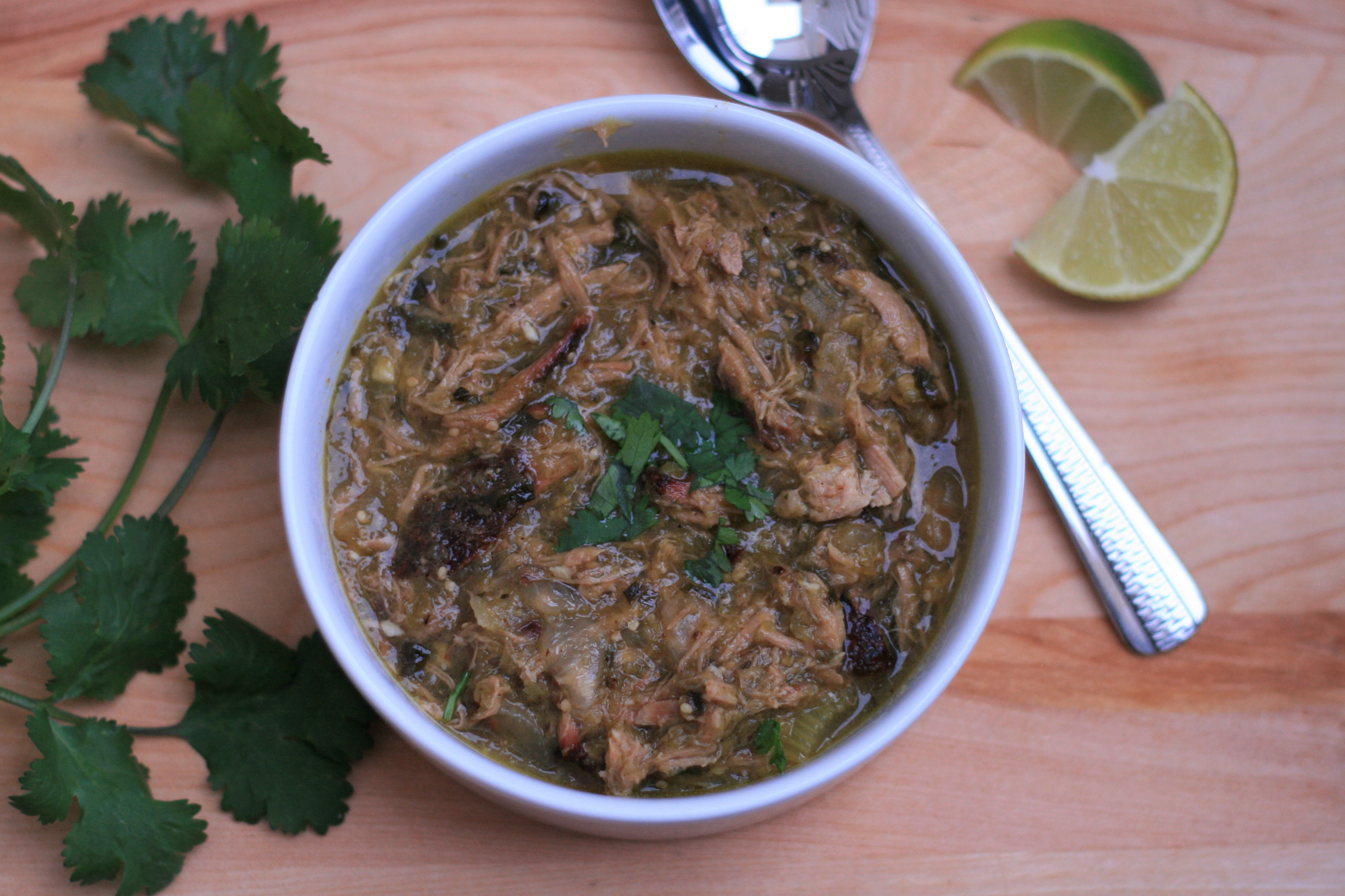 Pulled Pork Chili Verde michellew