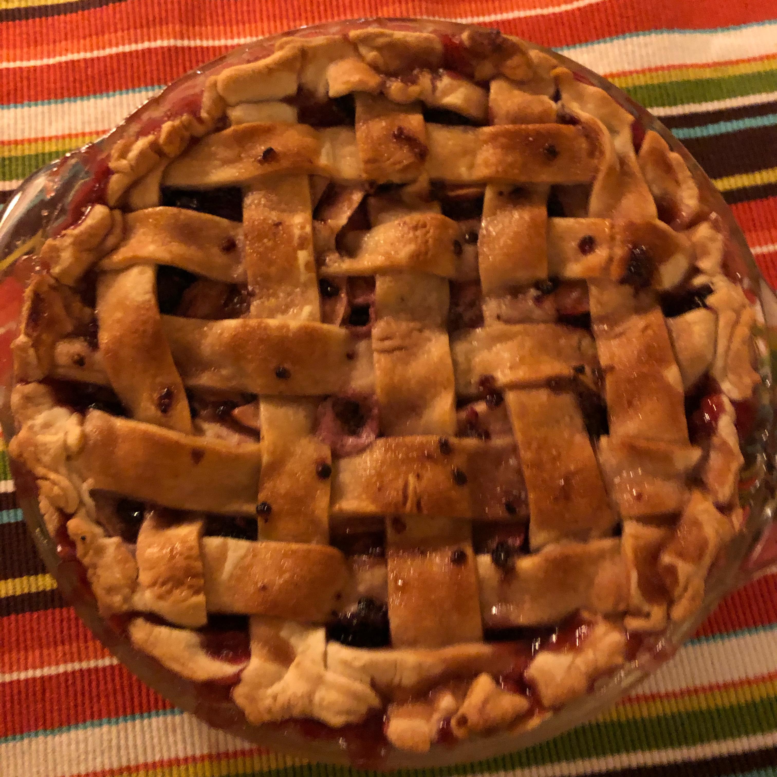 Apple Blackberry Pie Nikola Allard