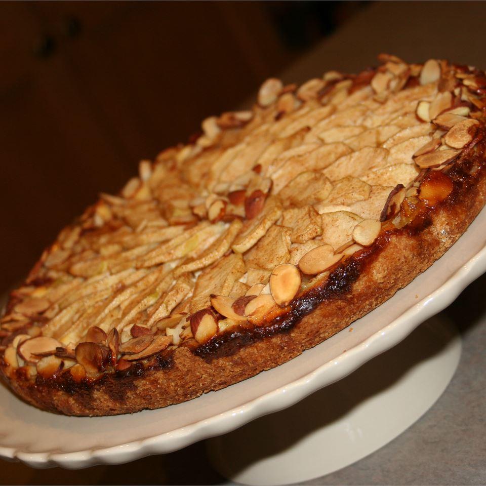 Apple Bavarian Torte