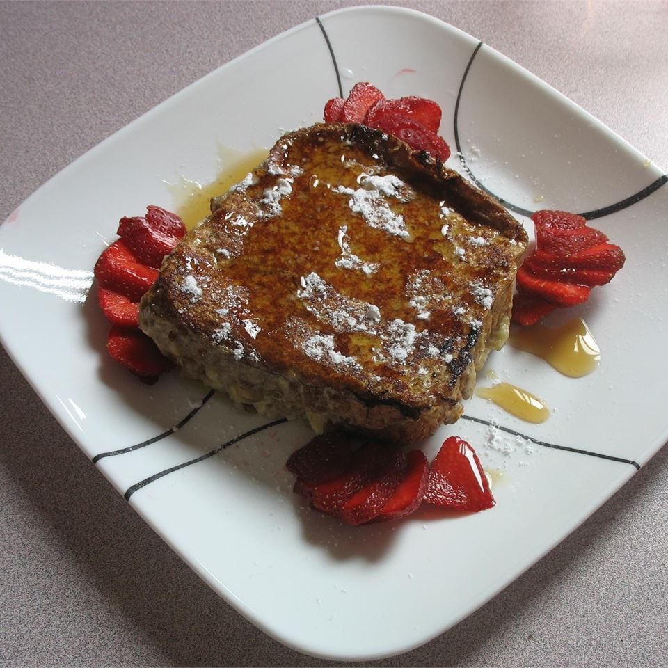 Karen's Baked Banana Stuffed French Toast Kalan L.