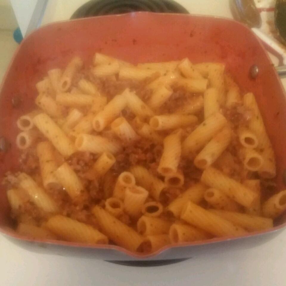 Rigatoni al Segreto (Rigatoni with Secret Sauce)