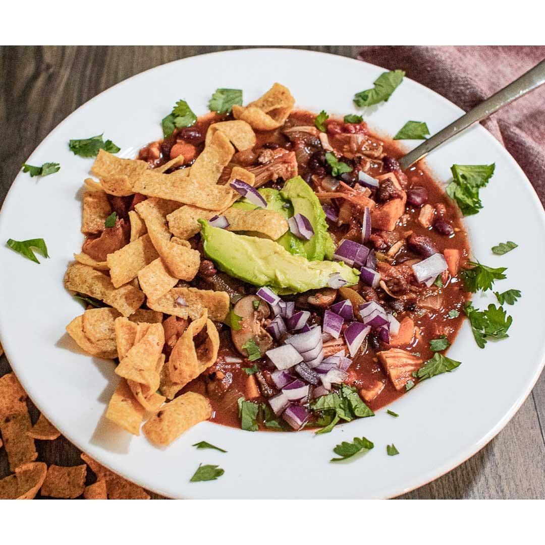 Vegan Instant Pot® Jackfruit Chili