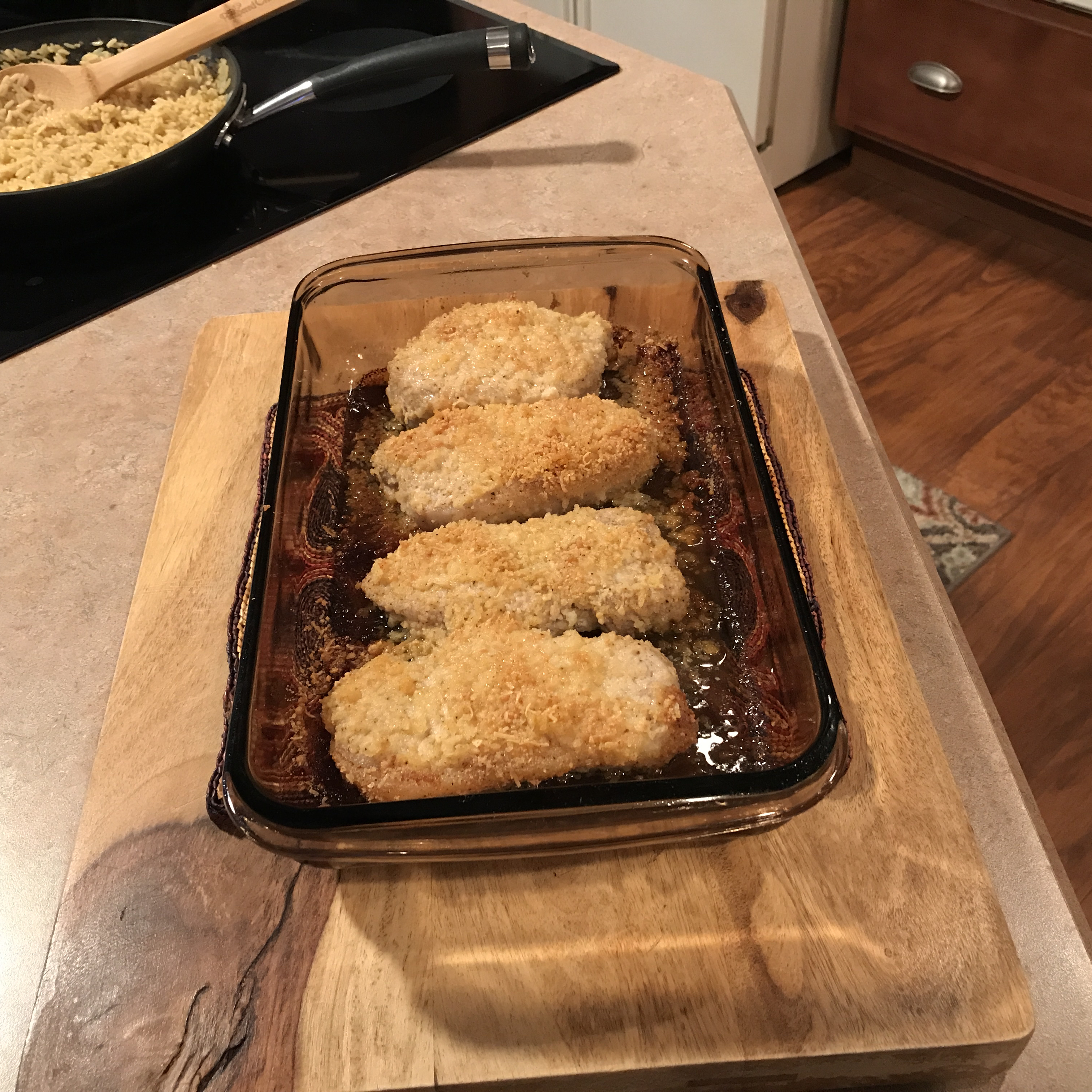 Parmesan-Crusted Pork Chops Marti