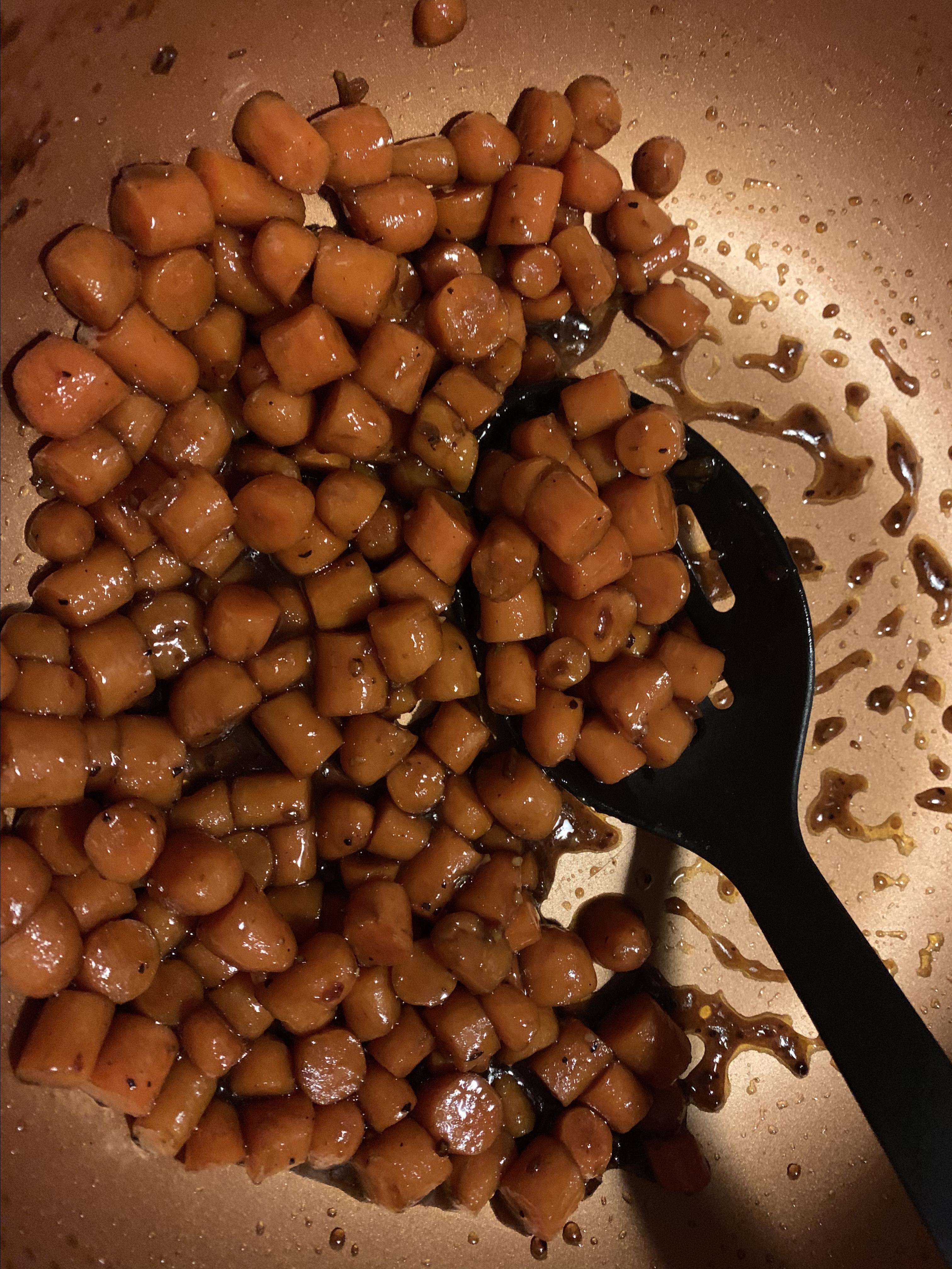 Balsamic Brown Sugar Carrots BirgitJ