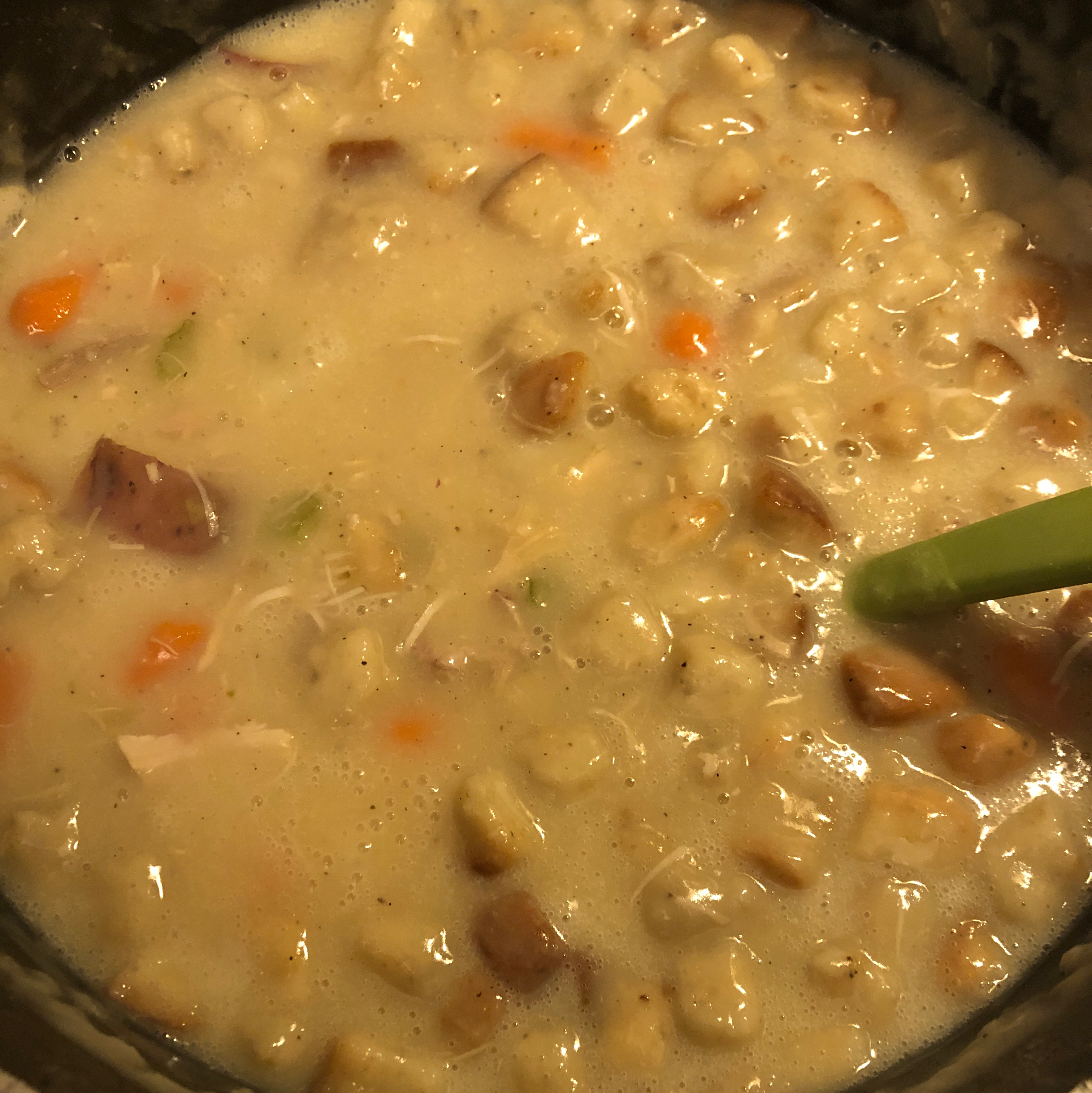 Creamy After-Thanksgiving Turkey Soup
