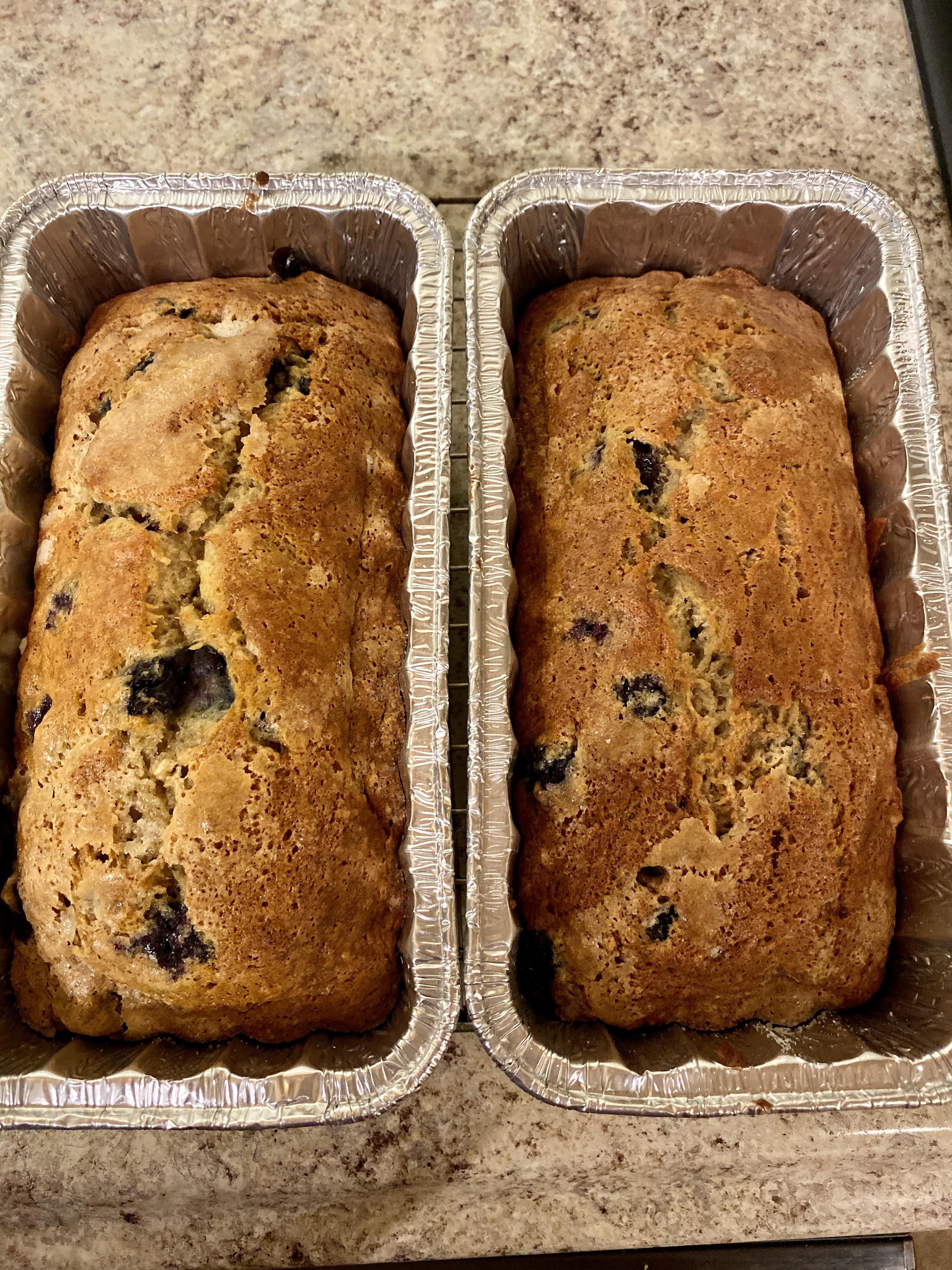 Blueberry Banana Bread STILLSWEET43
