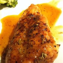 Rosemary Chicken with Orange-Maple Glaze