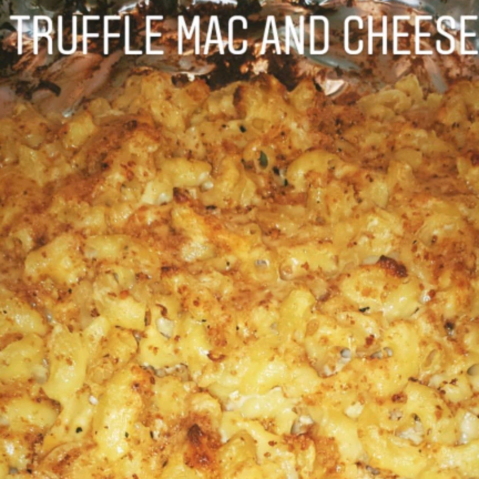 Four-Cheese Truffled Macaroni and Cheese
