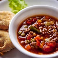 Martha's Vegetable Beef Soup