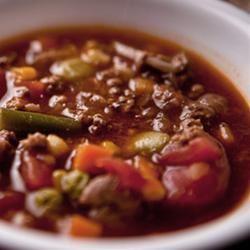 Martha's Vegetable Beef Soup Deanna Cathcart