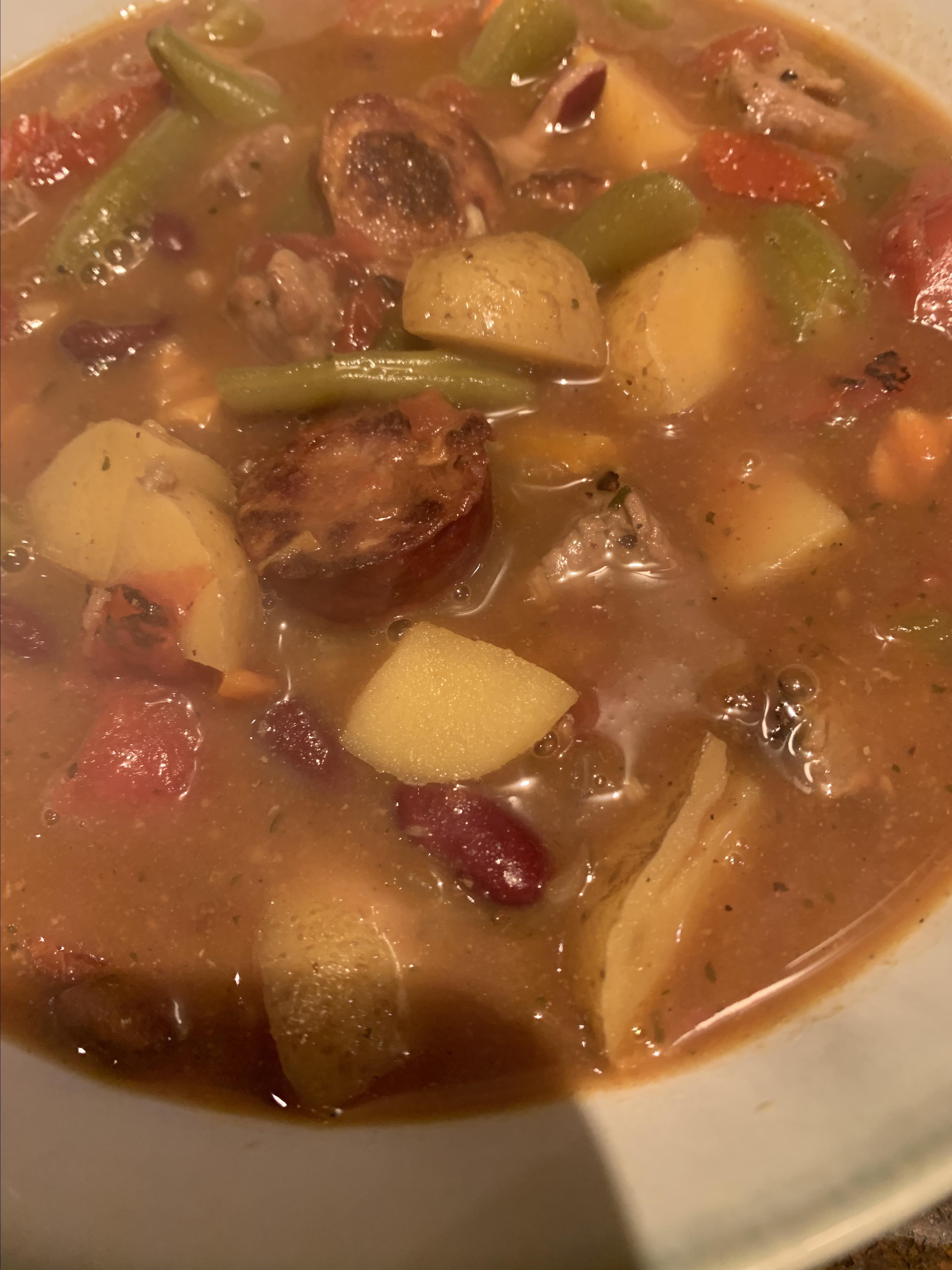 Mom's Portuguese Beef Stew RHONDA DURKALEC