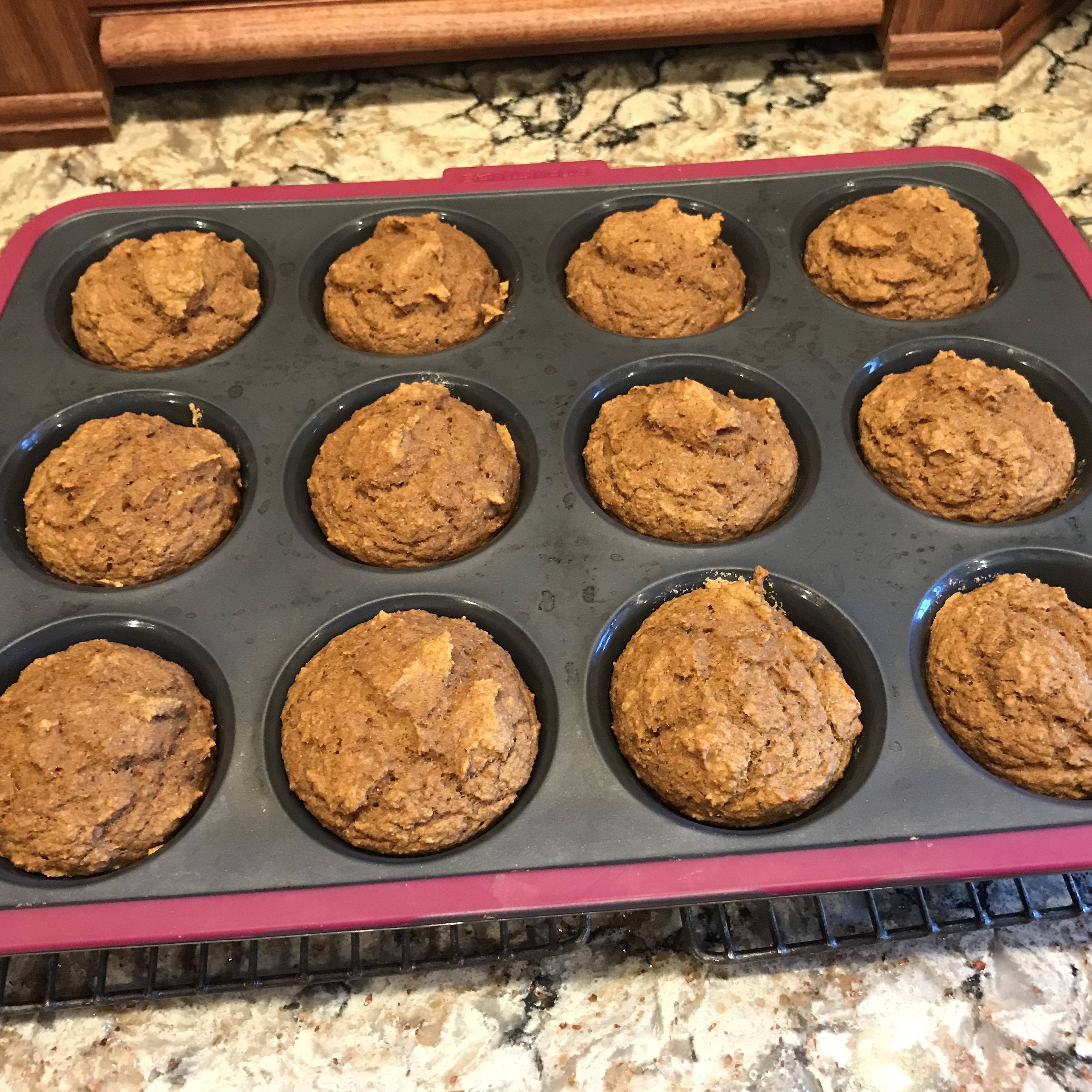 Pumpkin Spice Muffins Paula Fritsch