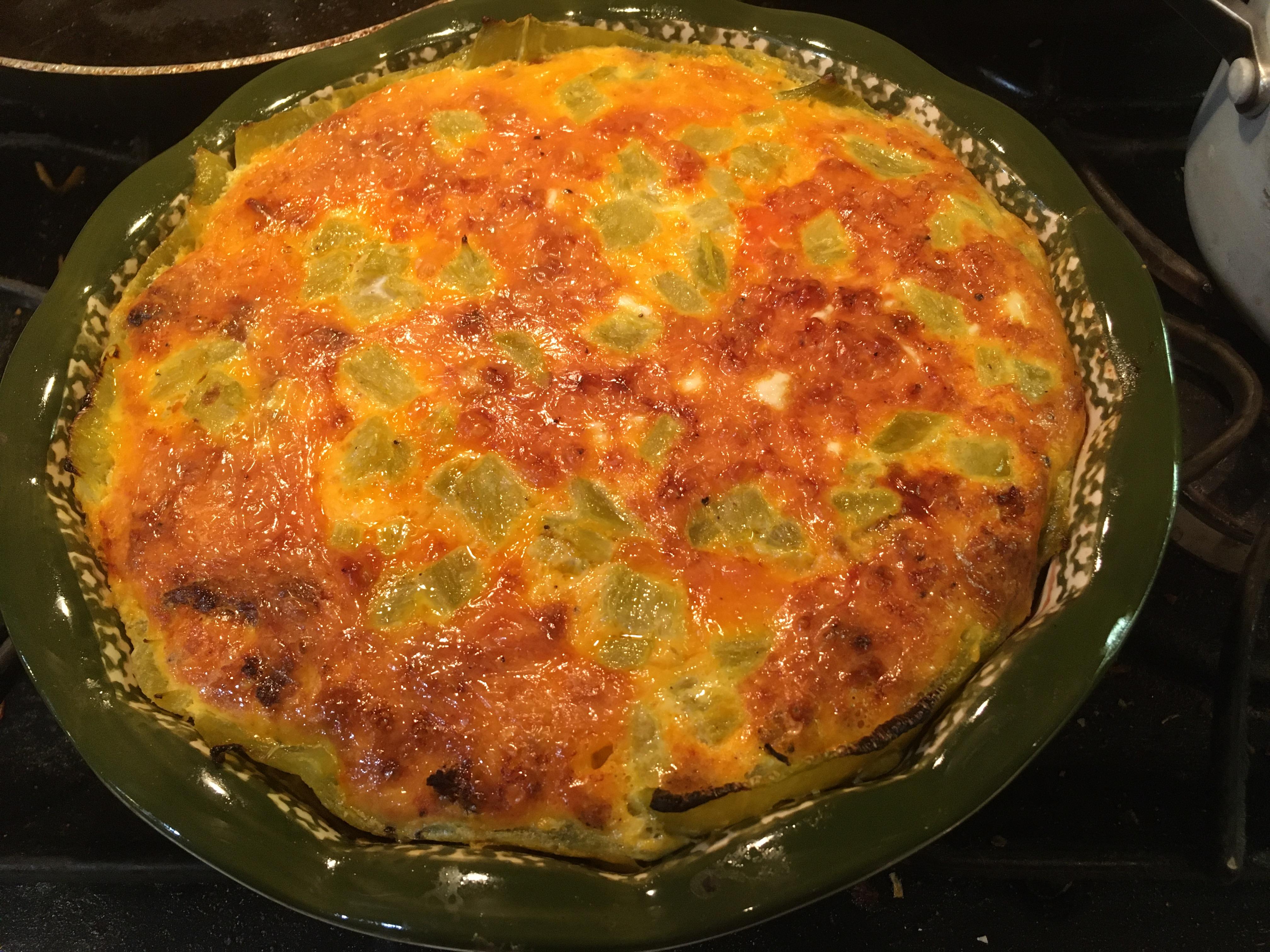 Chile Verde Quiche Nicole S.