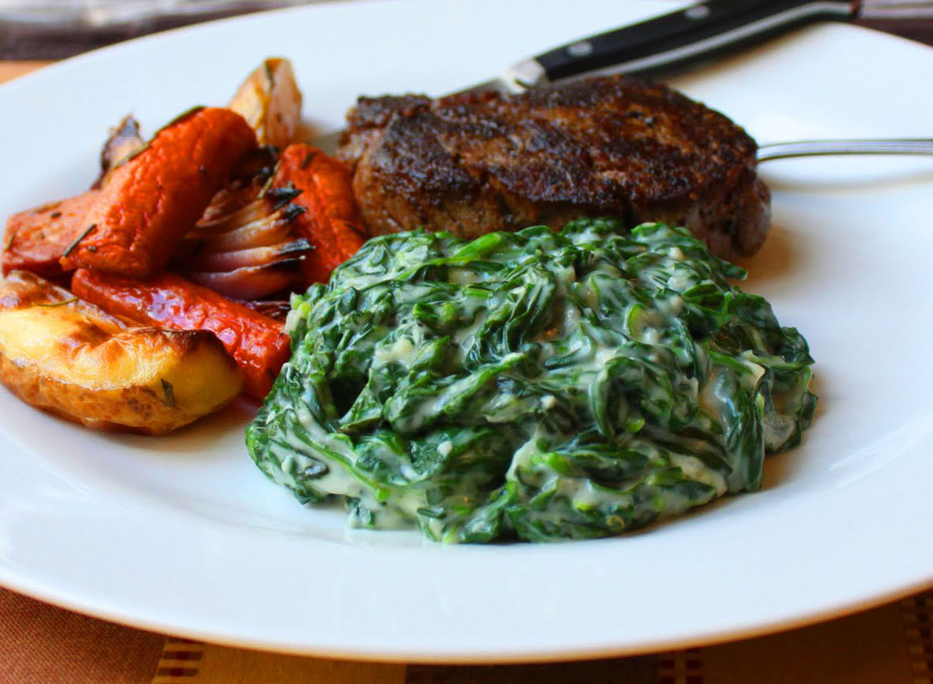 Fast and Easy Creamed Spinach Chef John