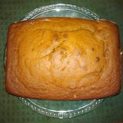 Spicy and Moist Pumpkin Bread