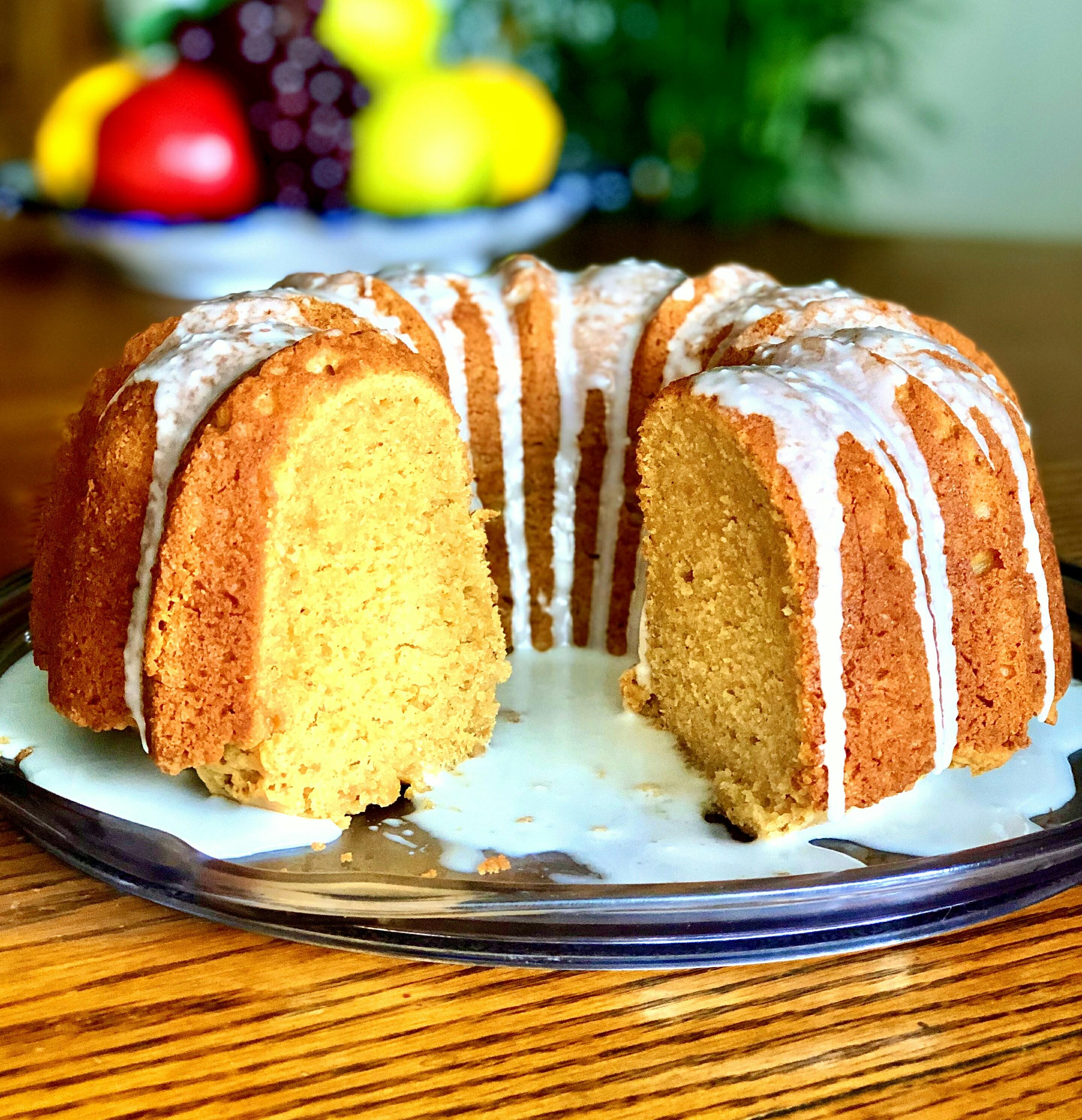 World's Best Sweet Potato Pound Cake