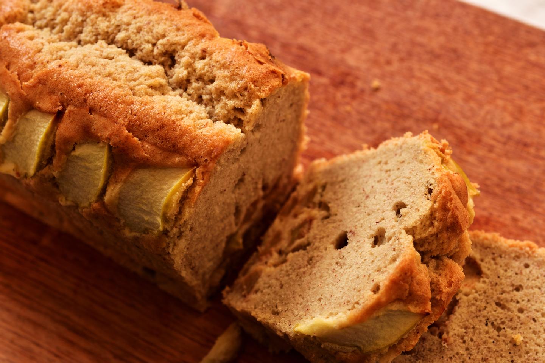 Raw Apple Pound Cake Audrey Chu