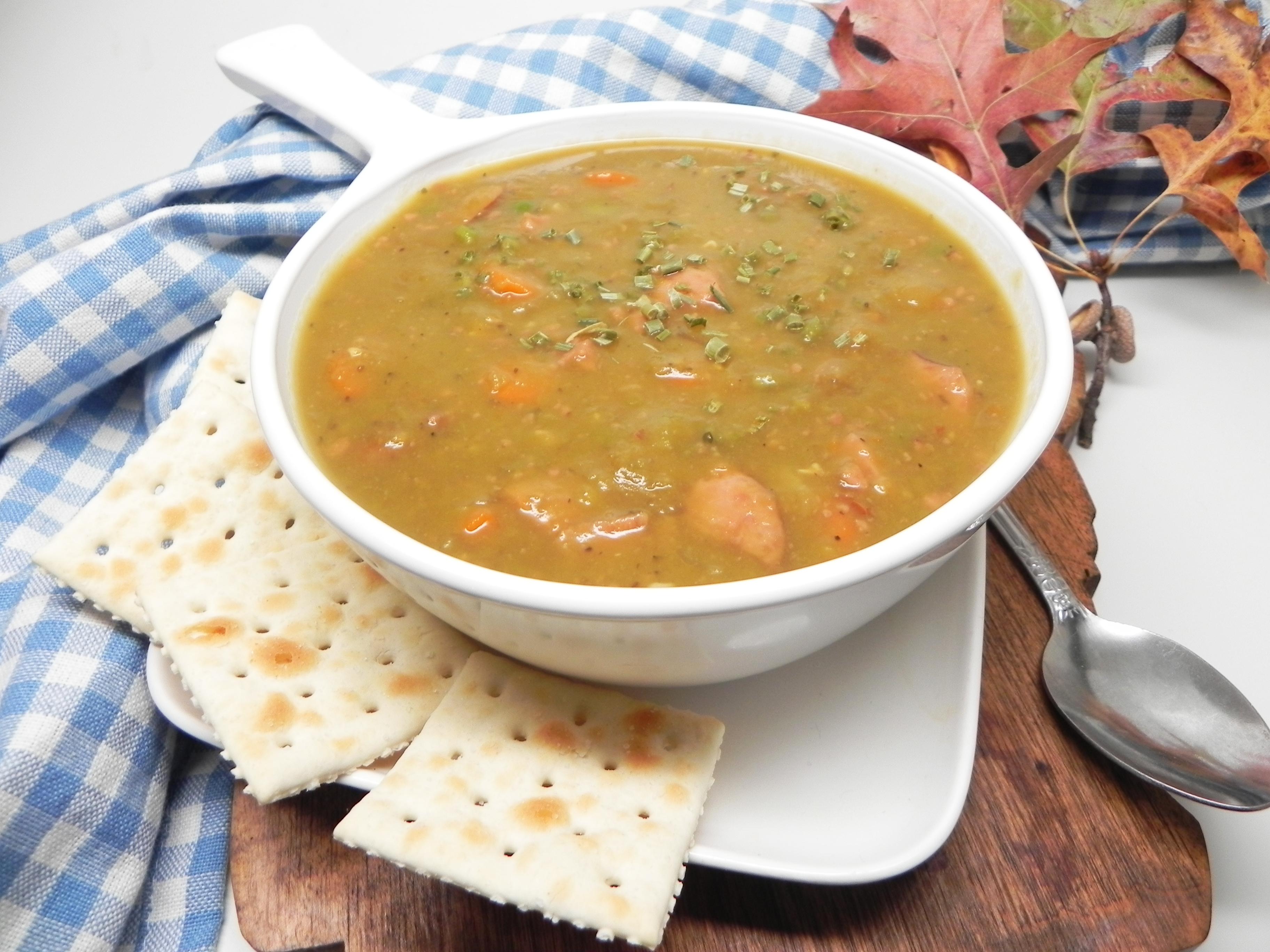 Split Pea and Sausage Soup Soup Loving Nicole