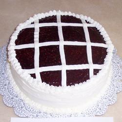 Raspberry Walnut Torte Auntie D in MN