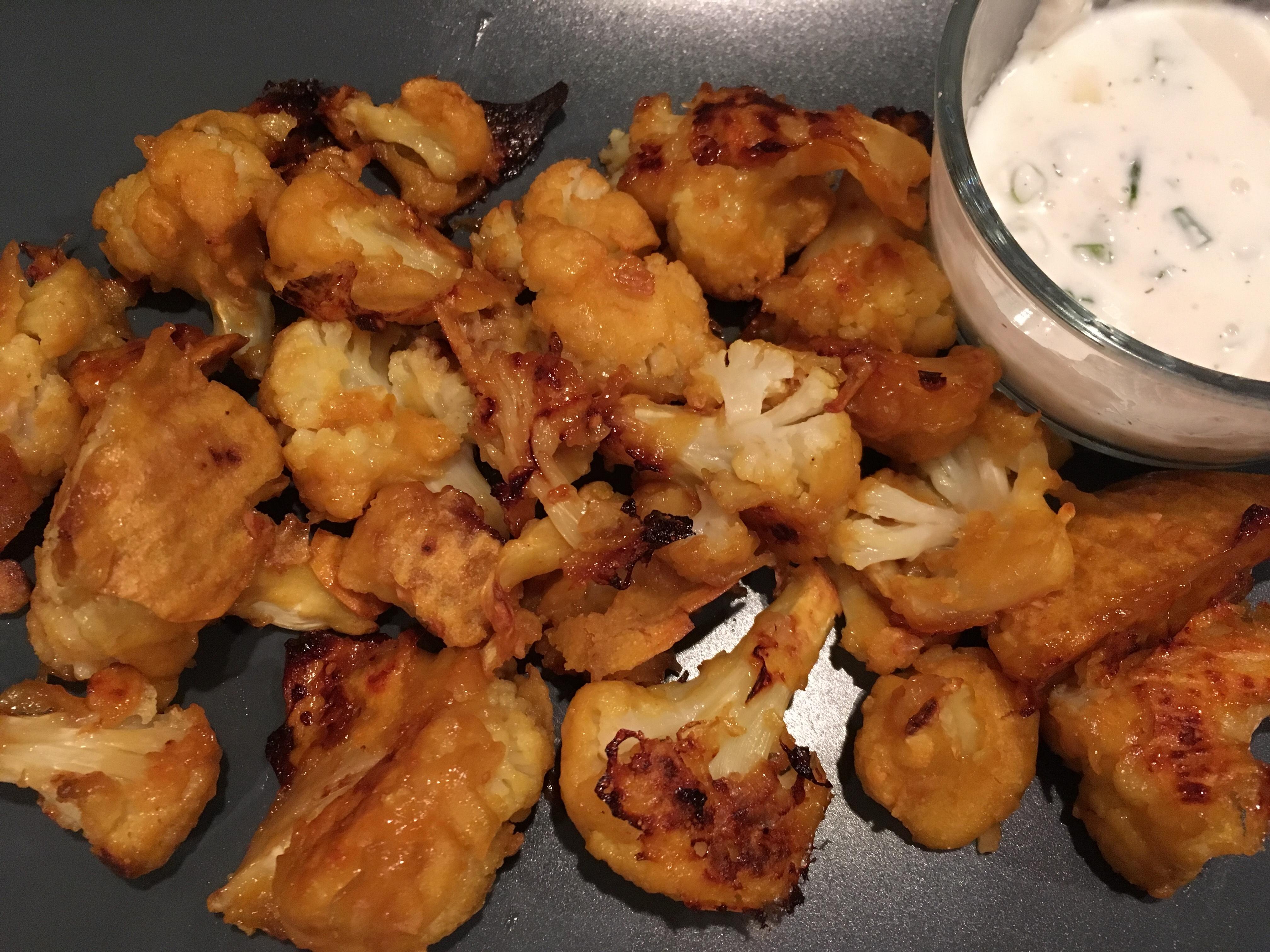 Hot Cauliflower Wings