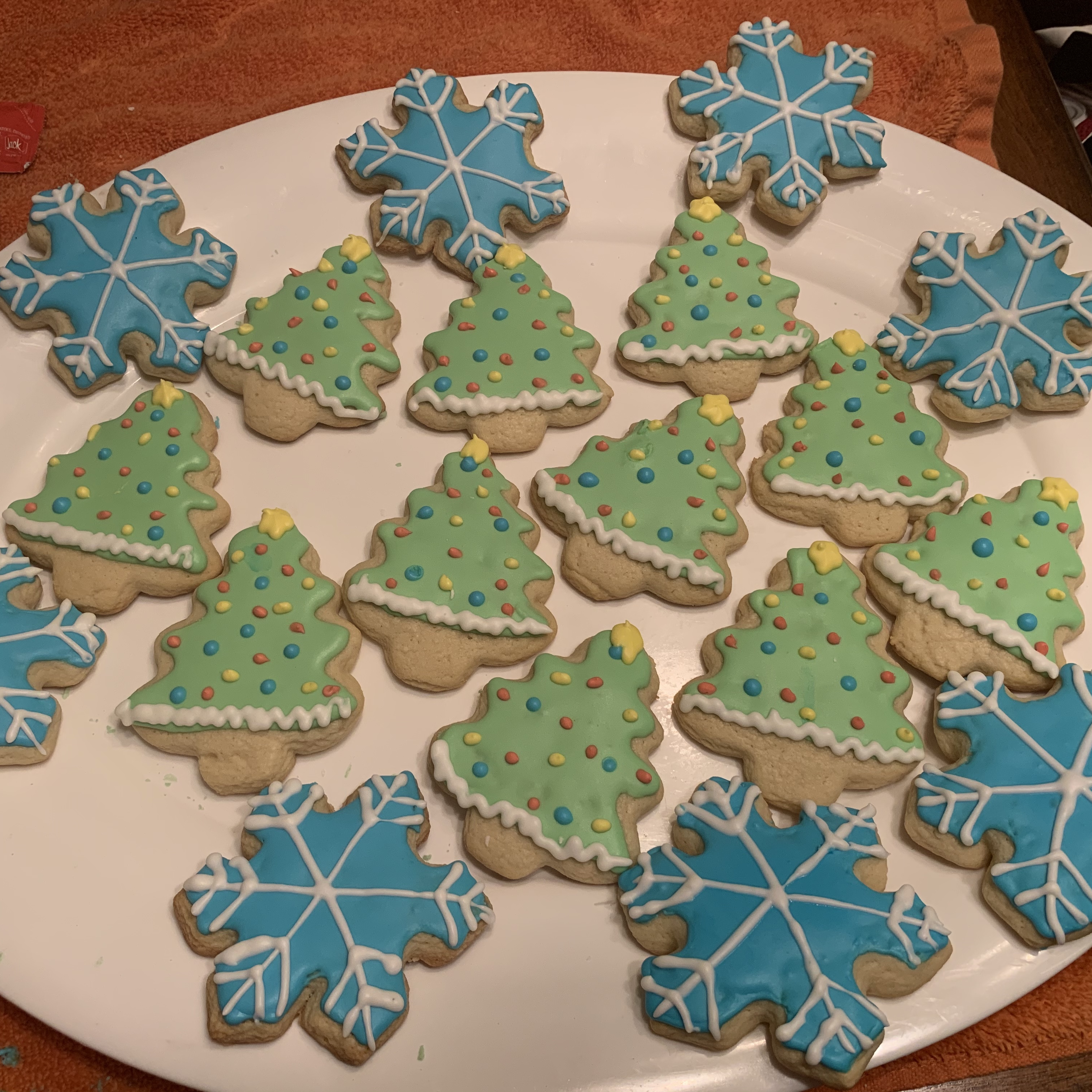 Christmas Tree Cookies kmccord4