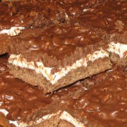 Deluxe Chocolate Marshmallow Bars alisadawn