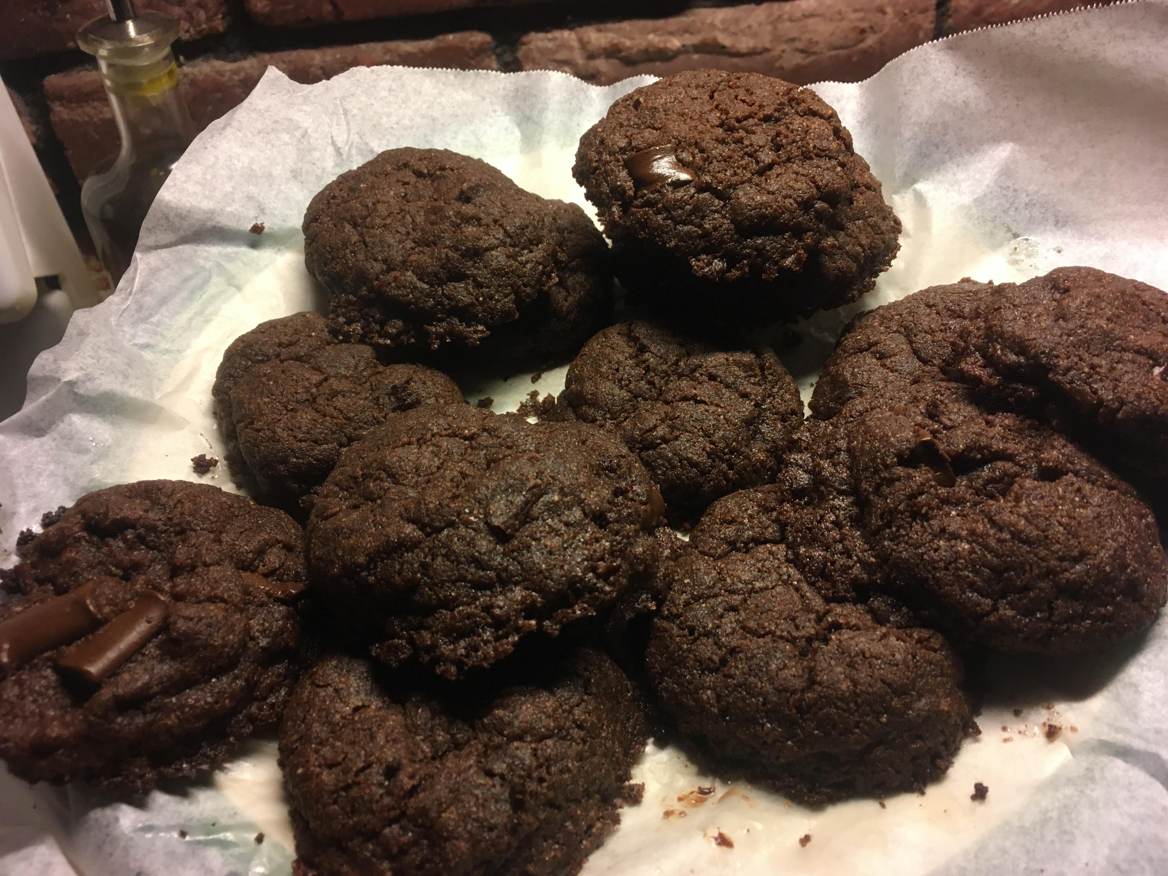 Vegan Chocolate Chocolate Chip Cookies Valerie Bailey