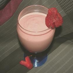 Strawberry-Banana-Peanut Butter Smoothie GodivaGirl