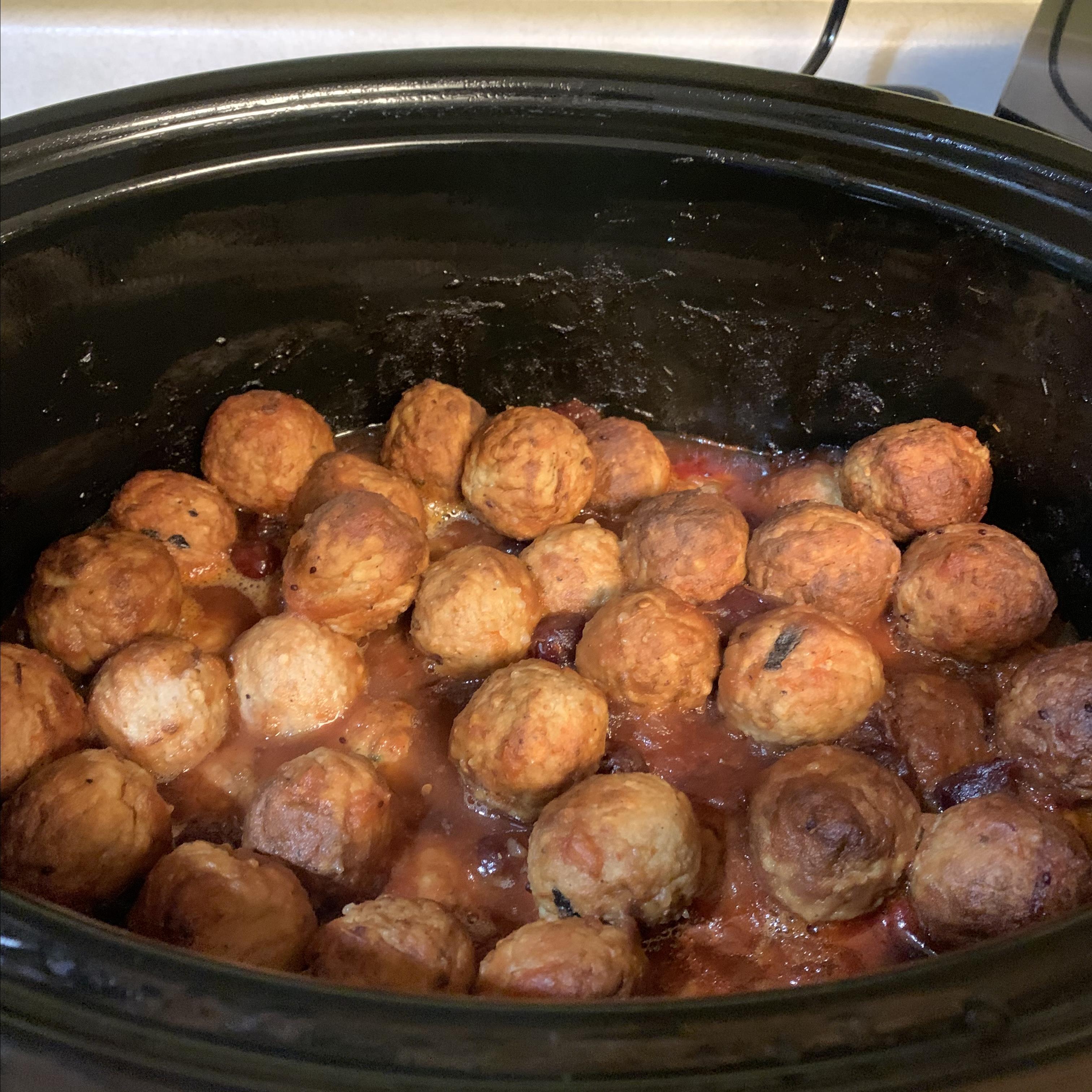 Crock Pot® Party Meatballs Paula