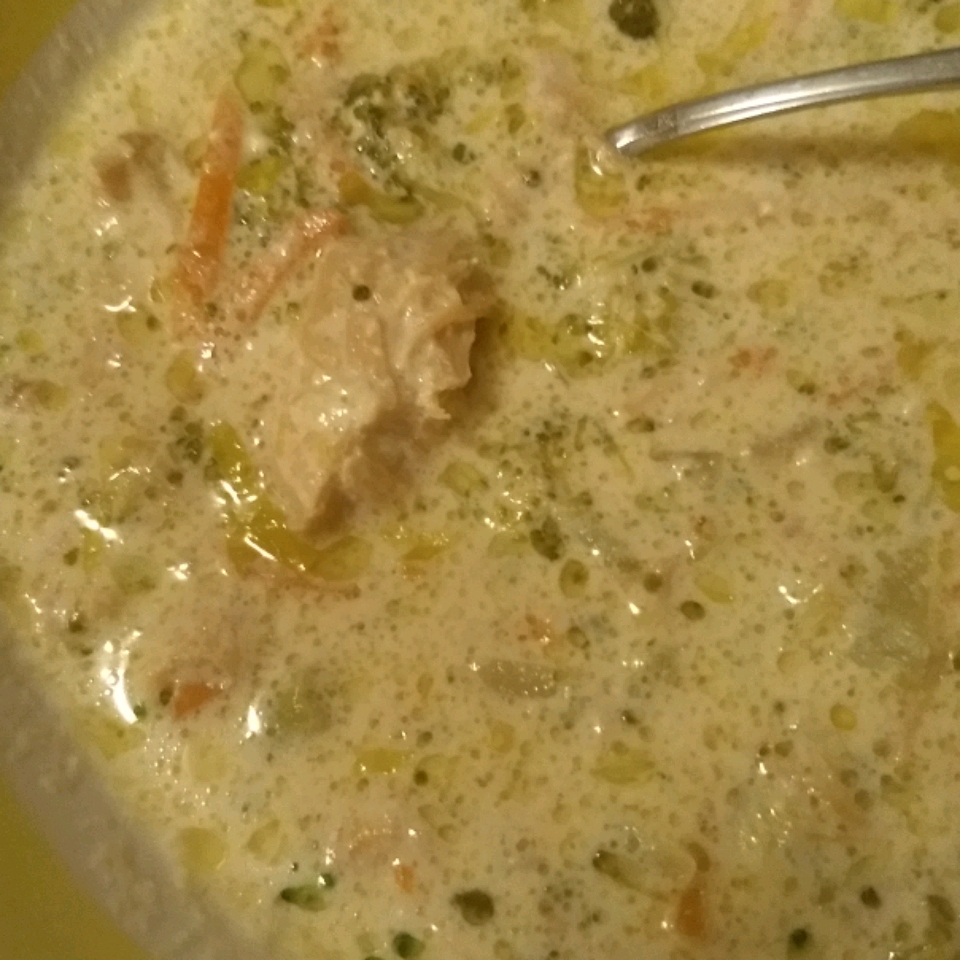 Low-Carb Cream of Broccoli Soup