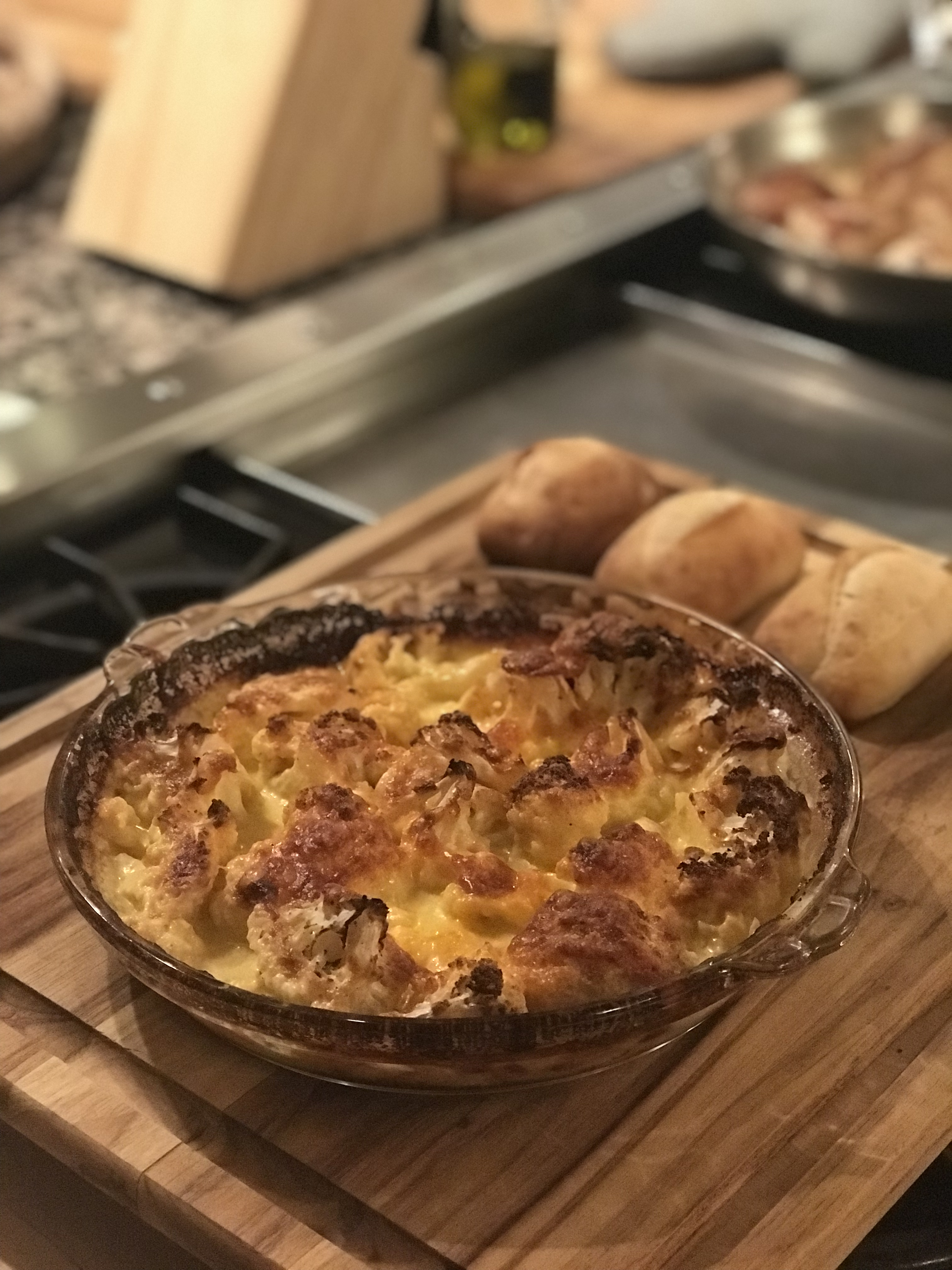 Simple Cauliflower Keto Casserole