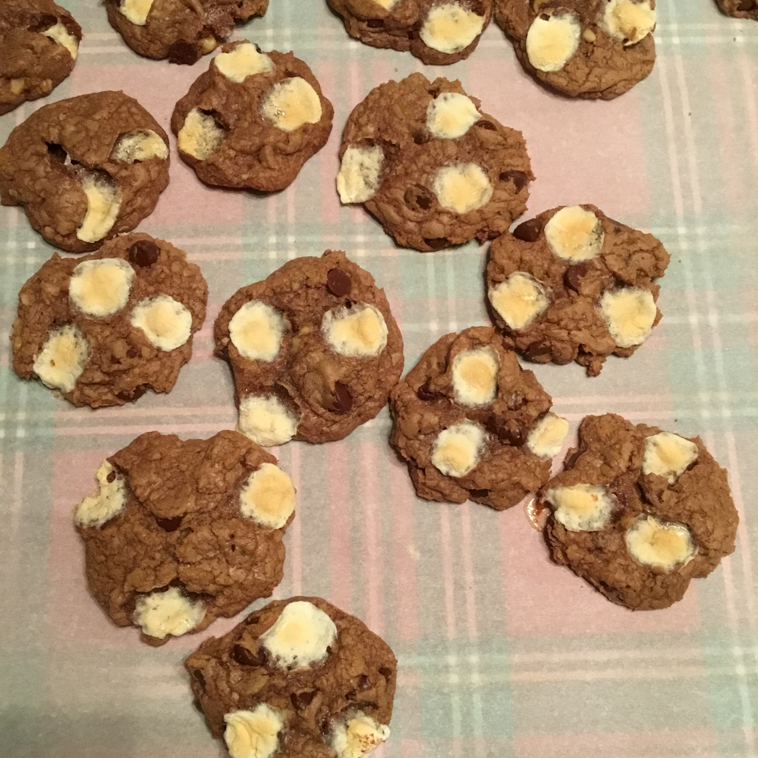 Chocolate Rocky Road Cookies Barb