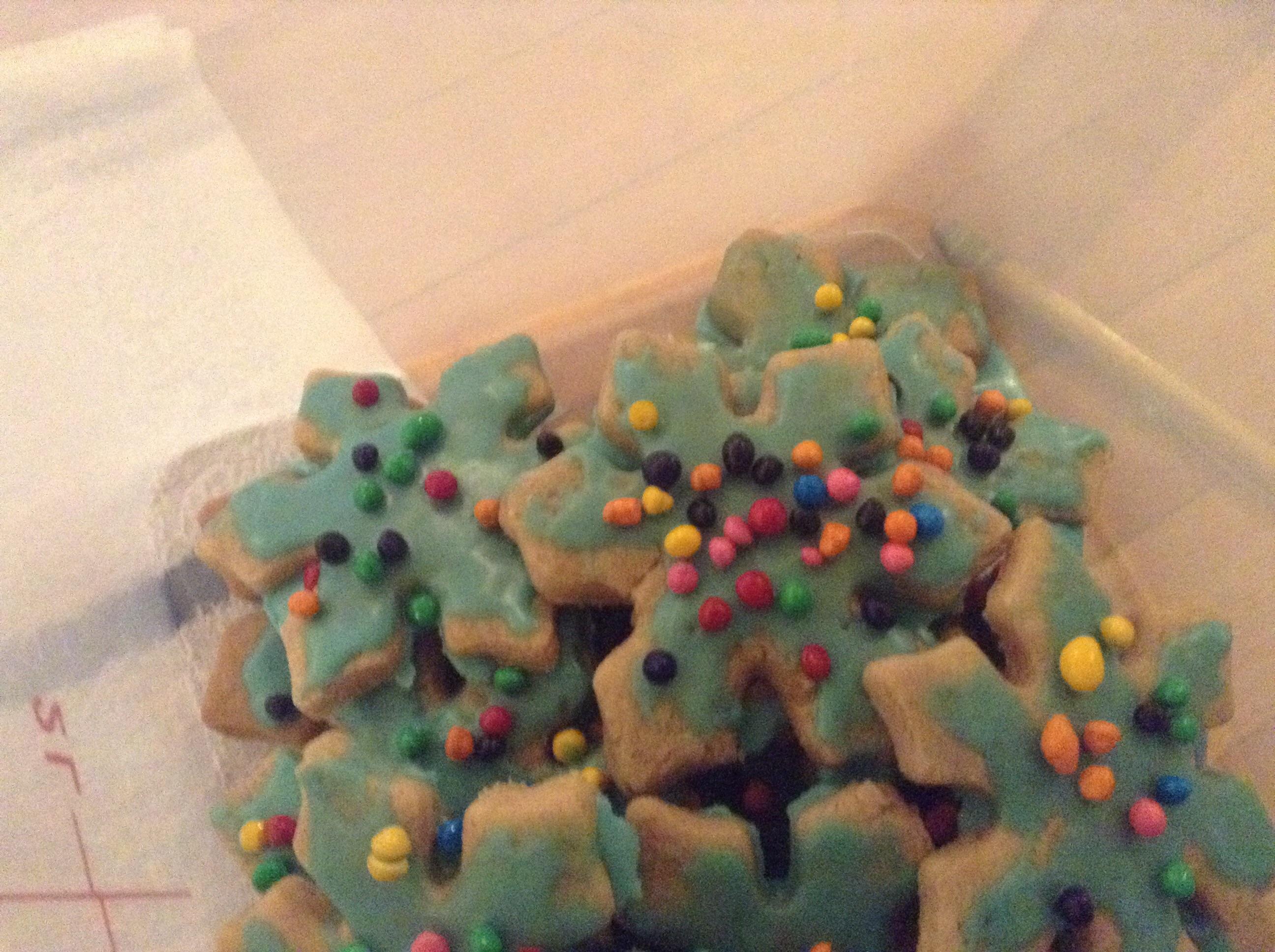 Gingerbread Men from Splenda® Aloha cat