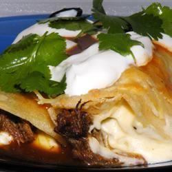 Shredded Beef Enchiladas KTrav