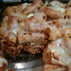 Vegetarian Baked Pasta JoyB2011