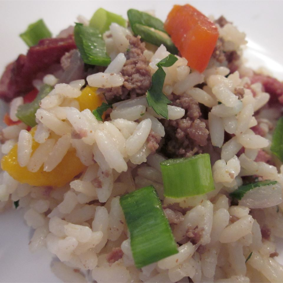 Ann's Dirty Rice Ms. Ho