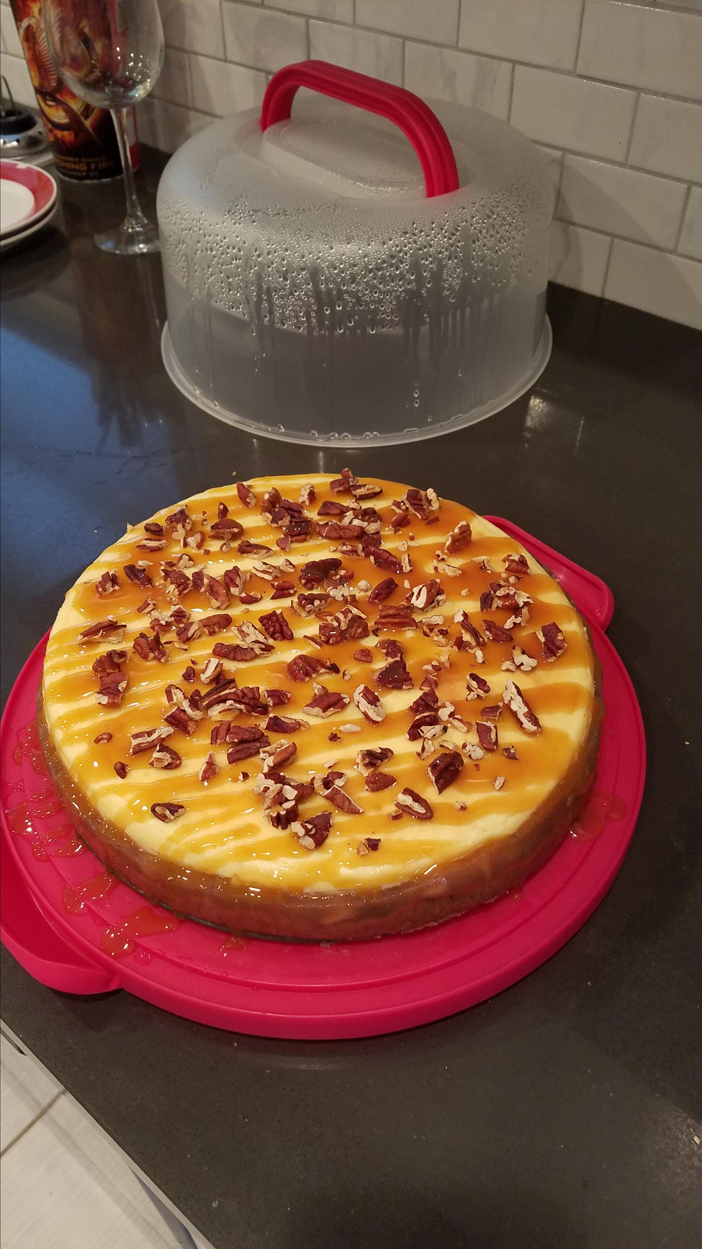 Fresh Caramel Apple Cheesecake Dianne Urey