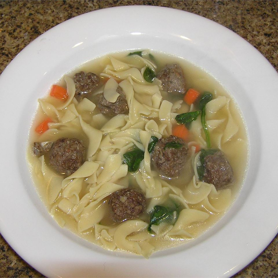 Mama's Italian Wedding Soup PAUPAUCO
