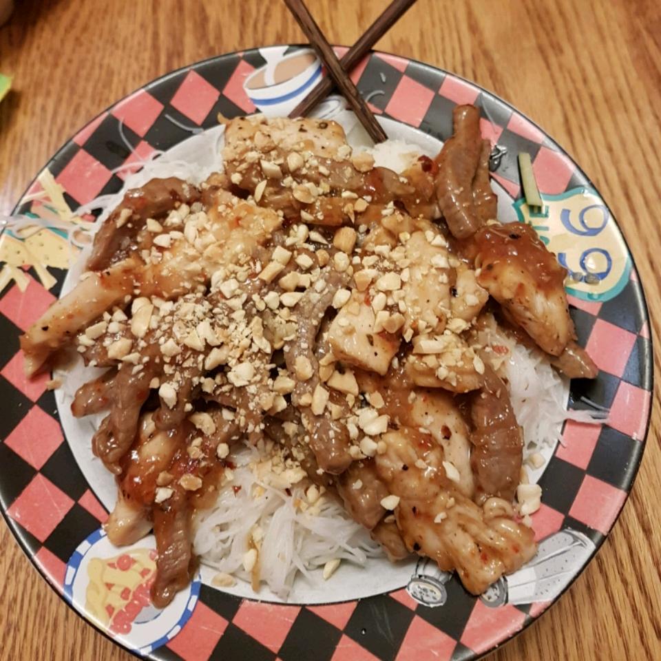 Vermicelli Noodle Bowl Ebonie.Cook