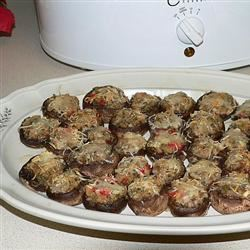 Dinah's Stuffed Mushrooms ronazack