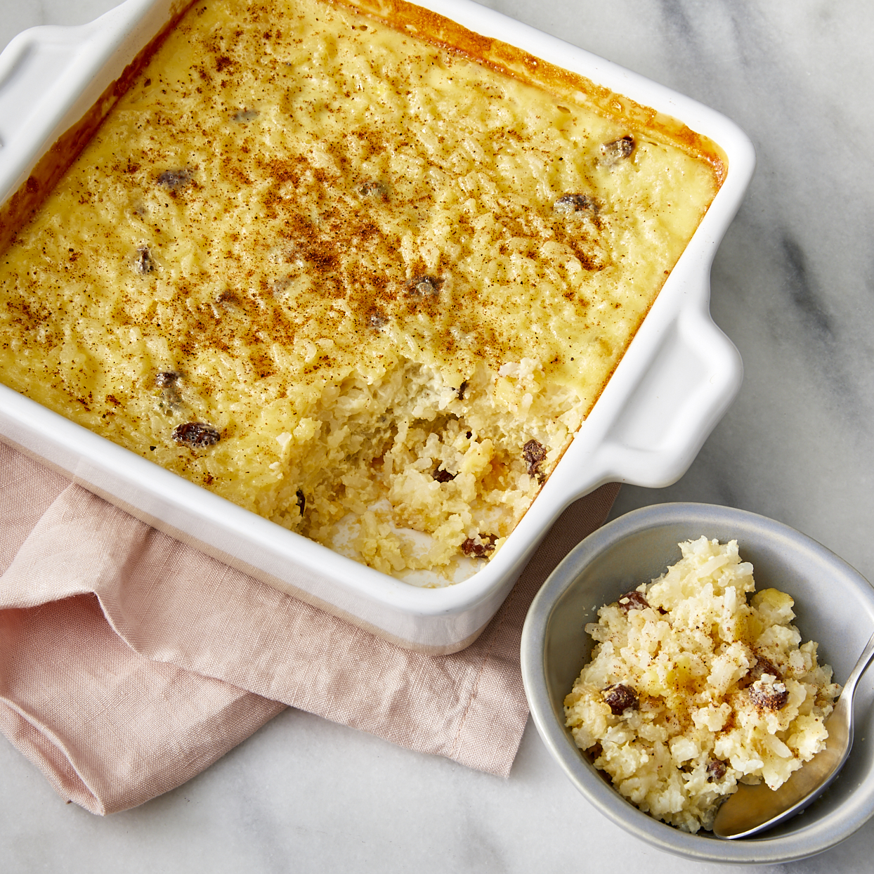 Baked Rice Pudding Recipe Allrecipes