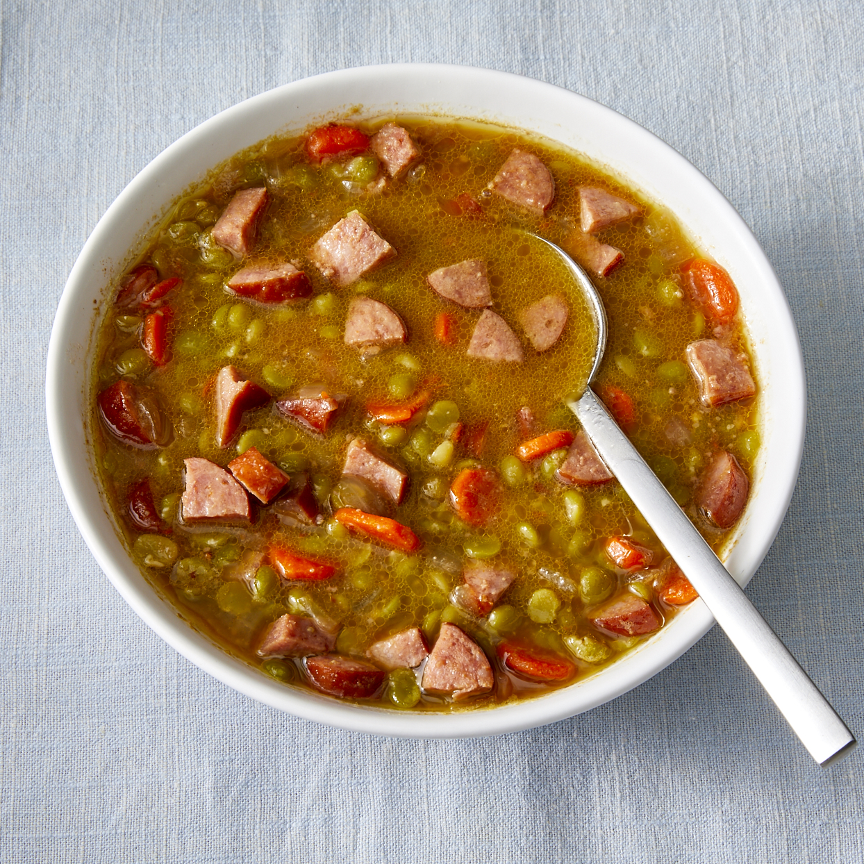 Split Pea and Sausage Soup Trusted Brands