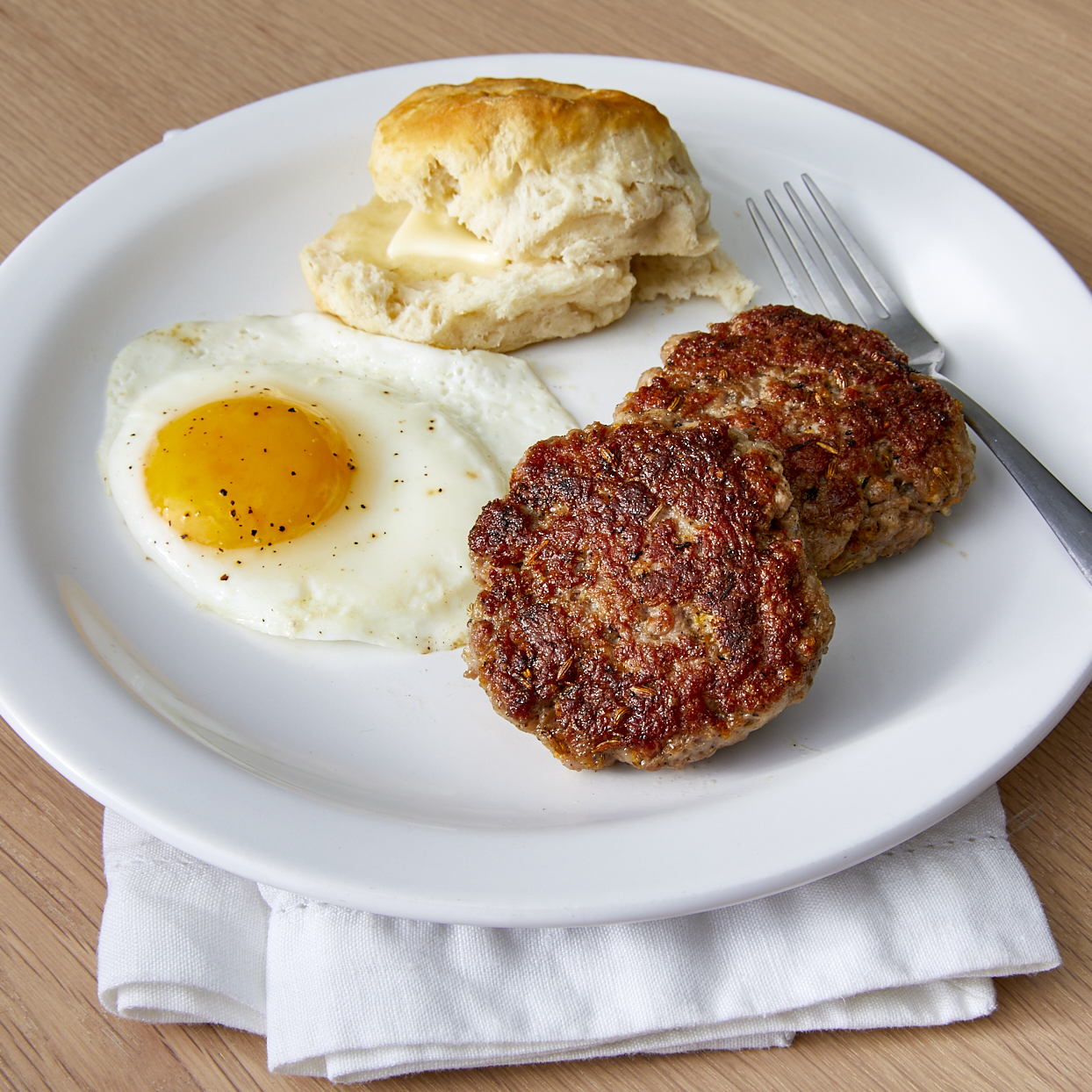 Chef John's Breakfast Sausage Patties Trusted Brands