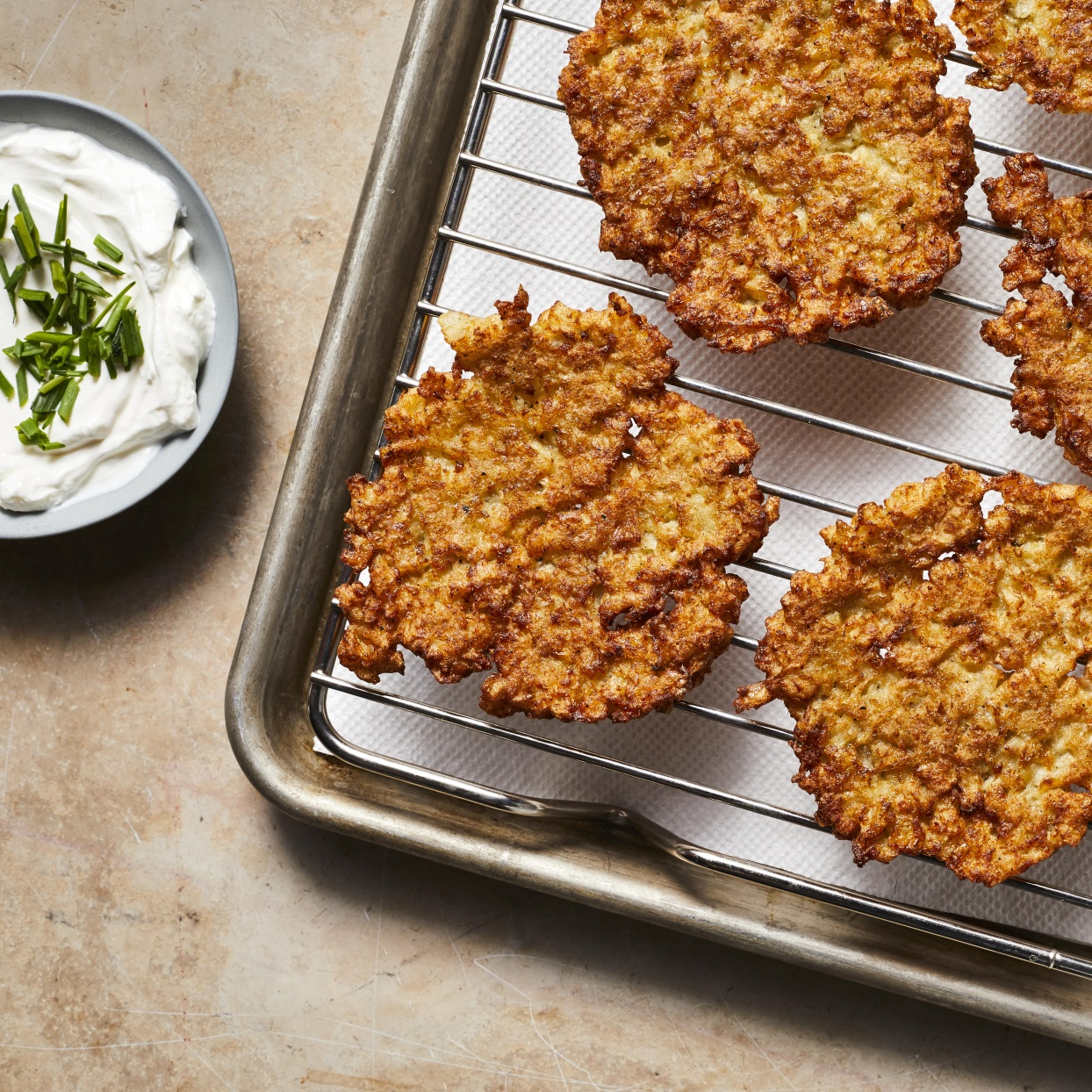 Cauliflower Latkes