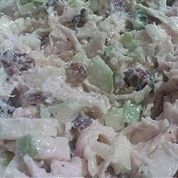chicken salad with cranberries and almonds recipe