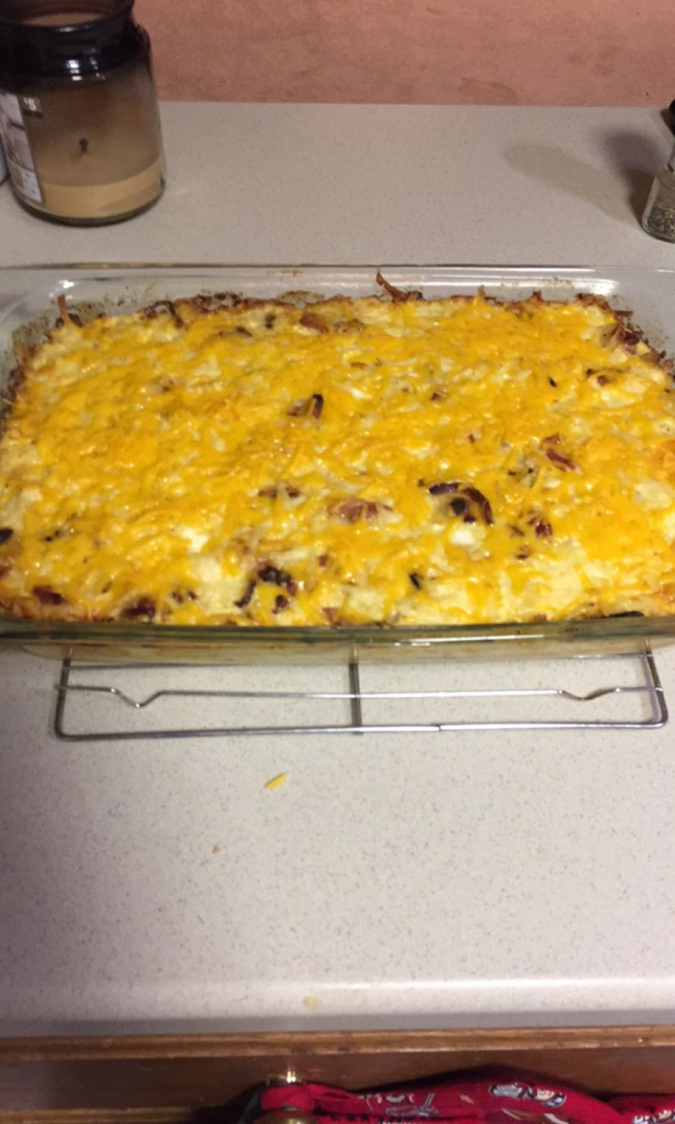 Cheesy Amish Breakfast Casserole Vera Marie