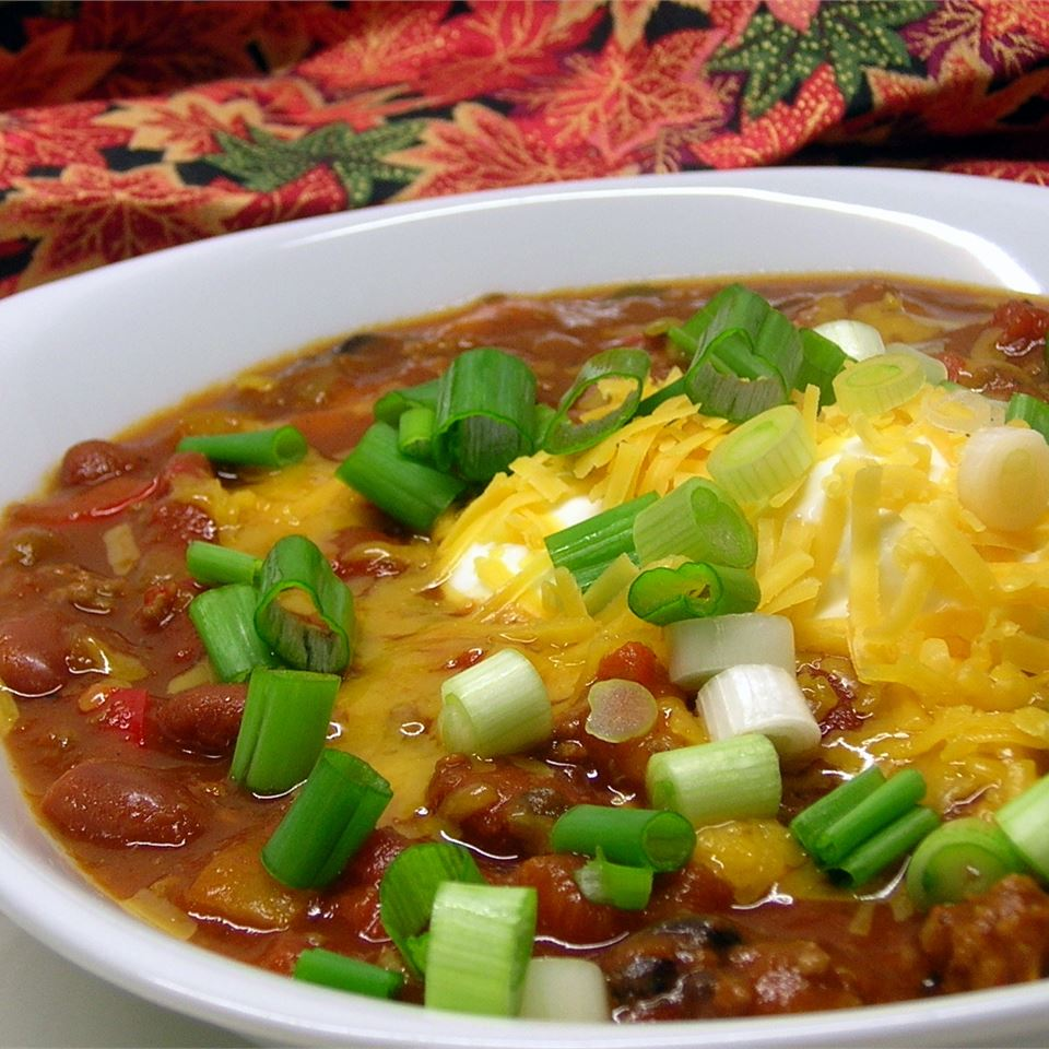 Spicy Pumpkin Chili Daisy K