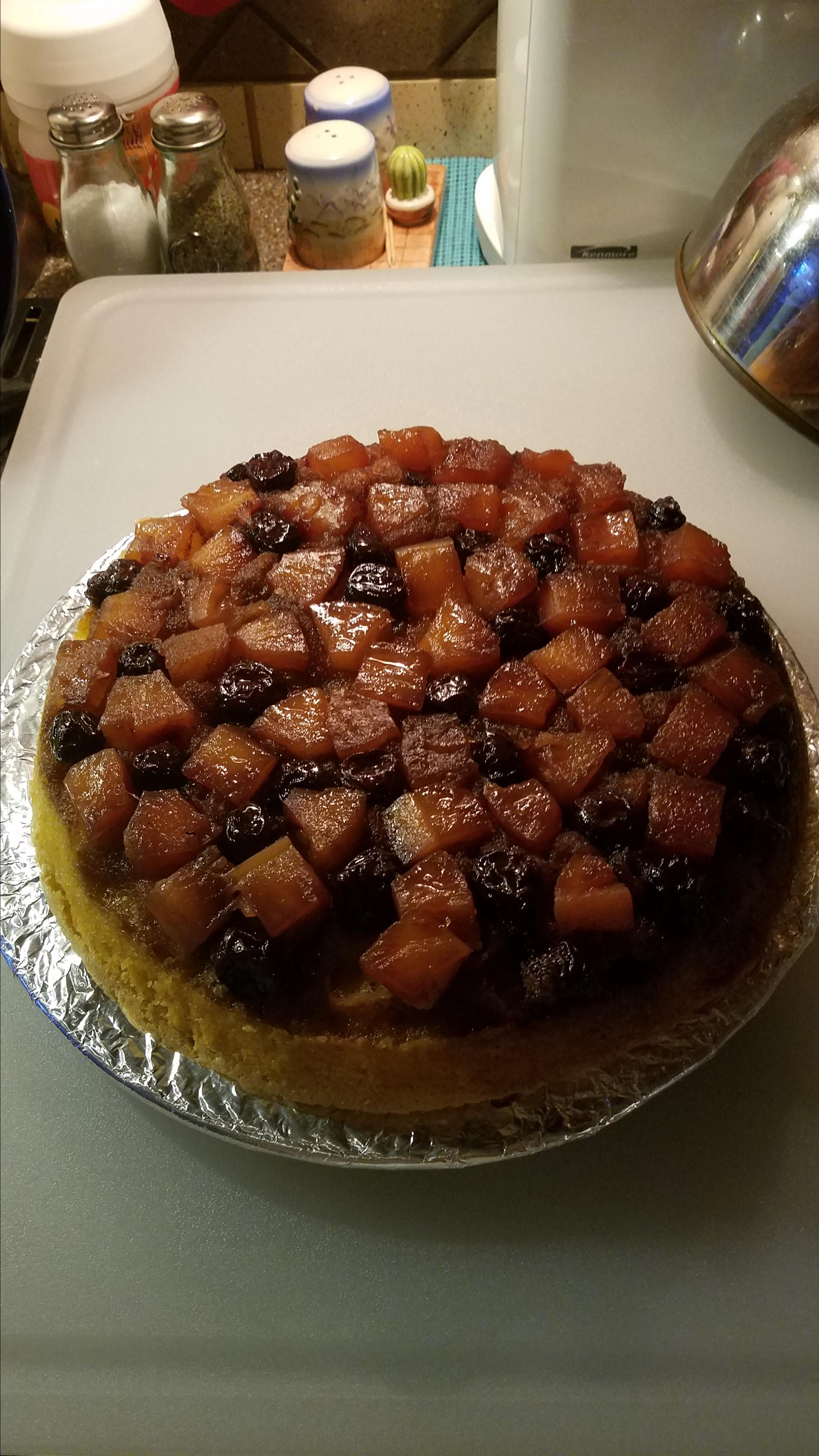 Old Fashioned Pineapple Upside-Down Cake Linda